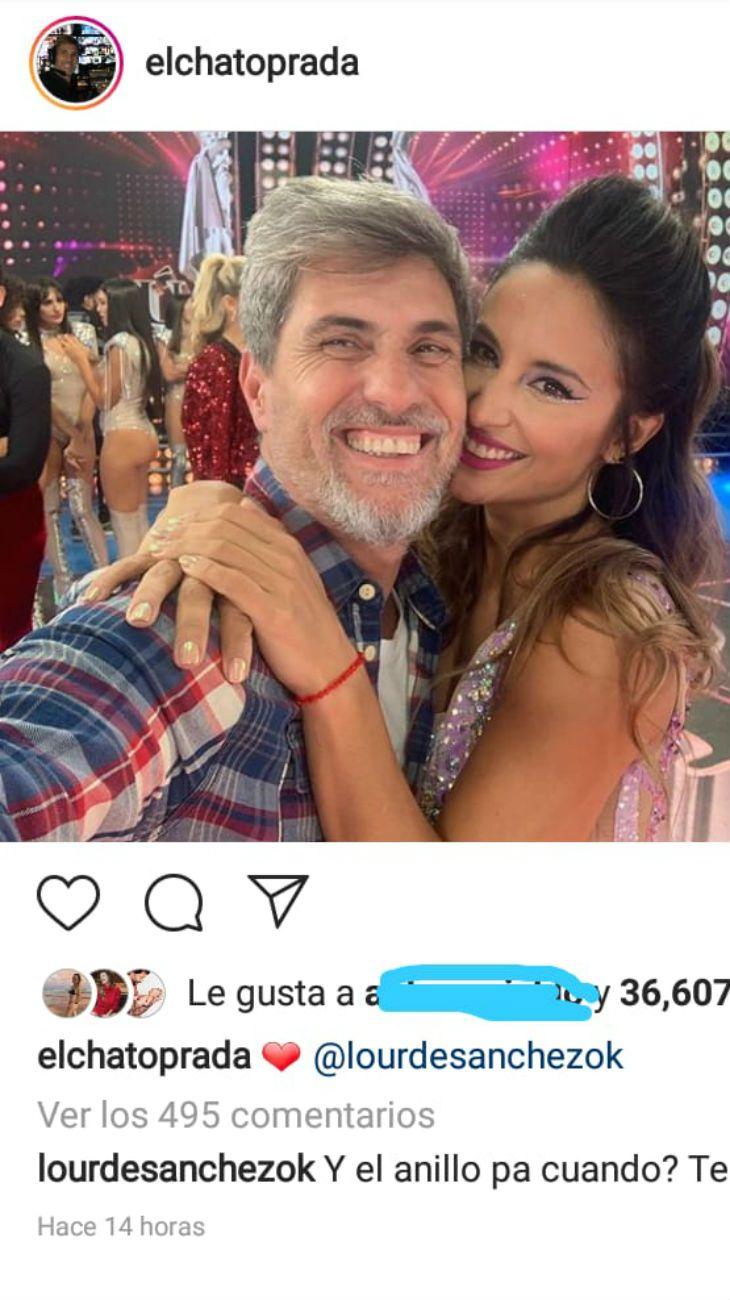 Lourdes Sánchez apuró al Chato Prada