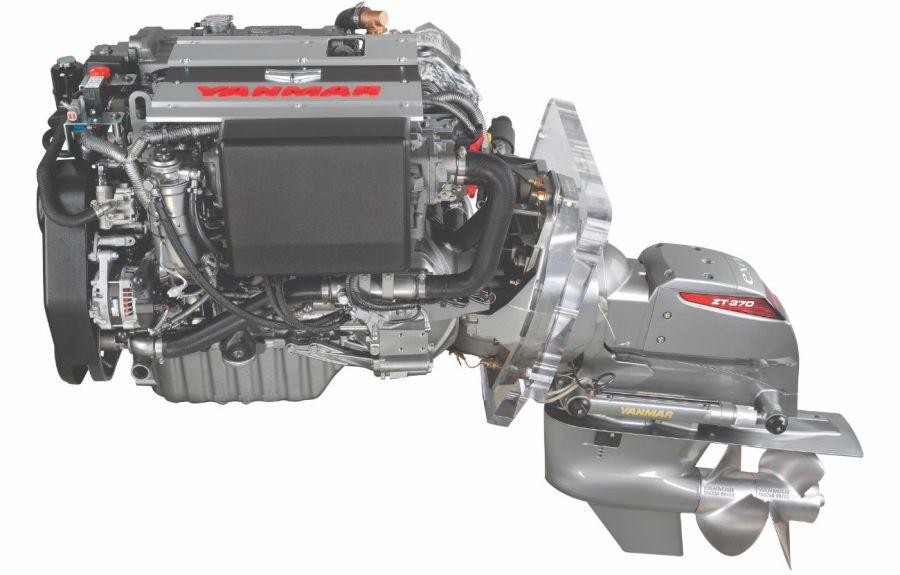 0522 4LV Sterndrive motor diesel electrónico marino