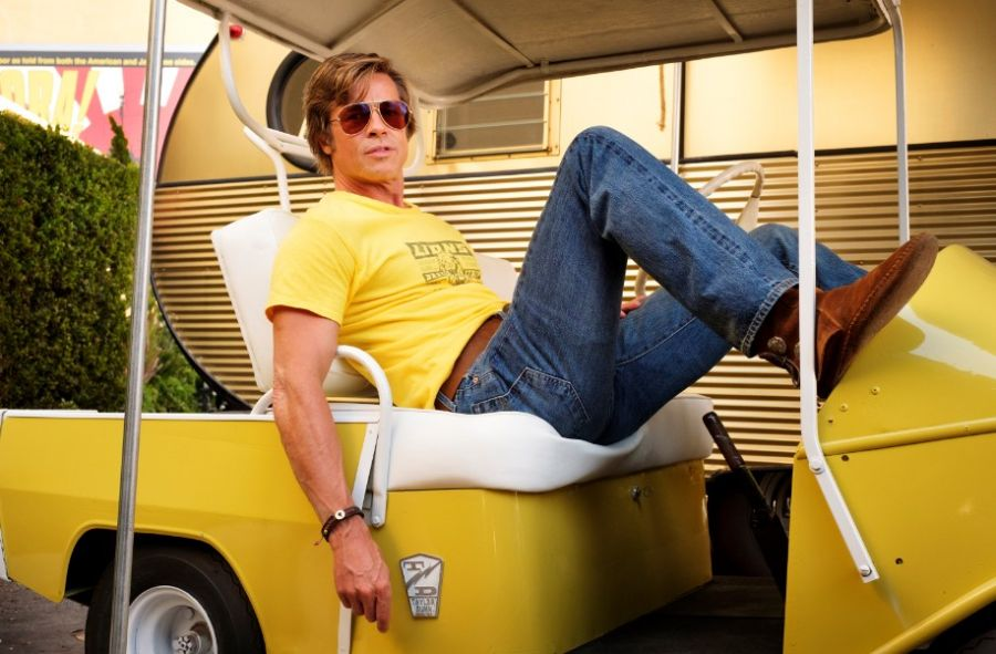 Brad Pitt en Once Upon a time...in Hollywood