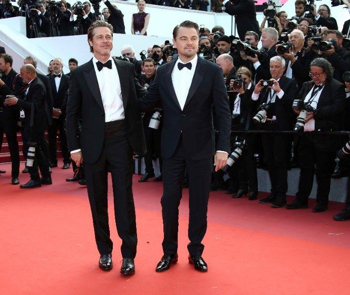 DiCaprio y Brad Pitt en el Festival de Cannes 2019