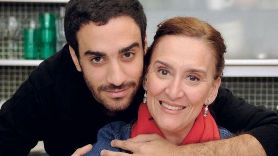 Gabriela Michetti y su hijo Lautaro Cura. Foto: Instagram.