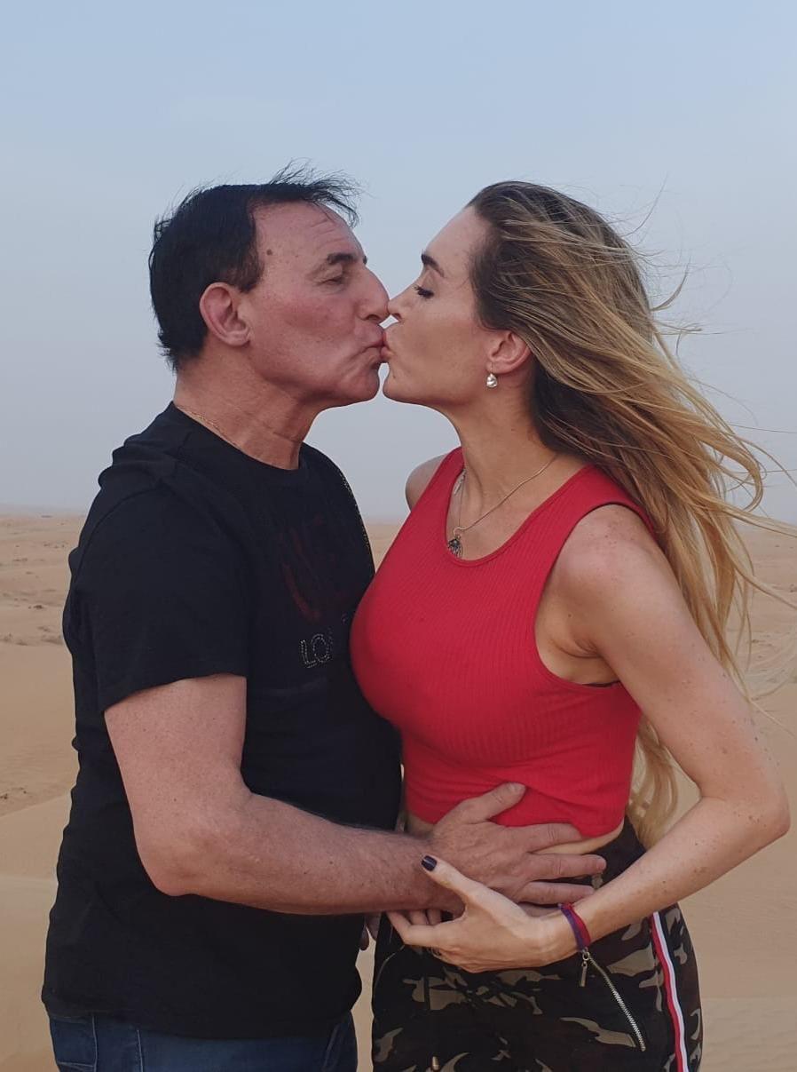 Fatima Florez y Norberto Marcos
