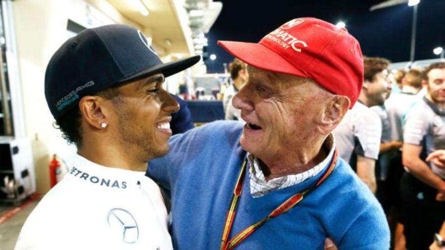 "Hamilton: ""Sin Niki, no sería quíntuple"""