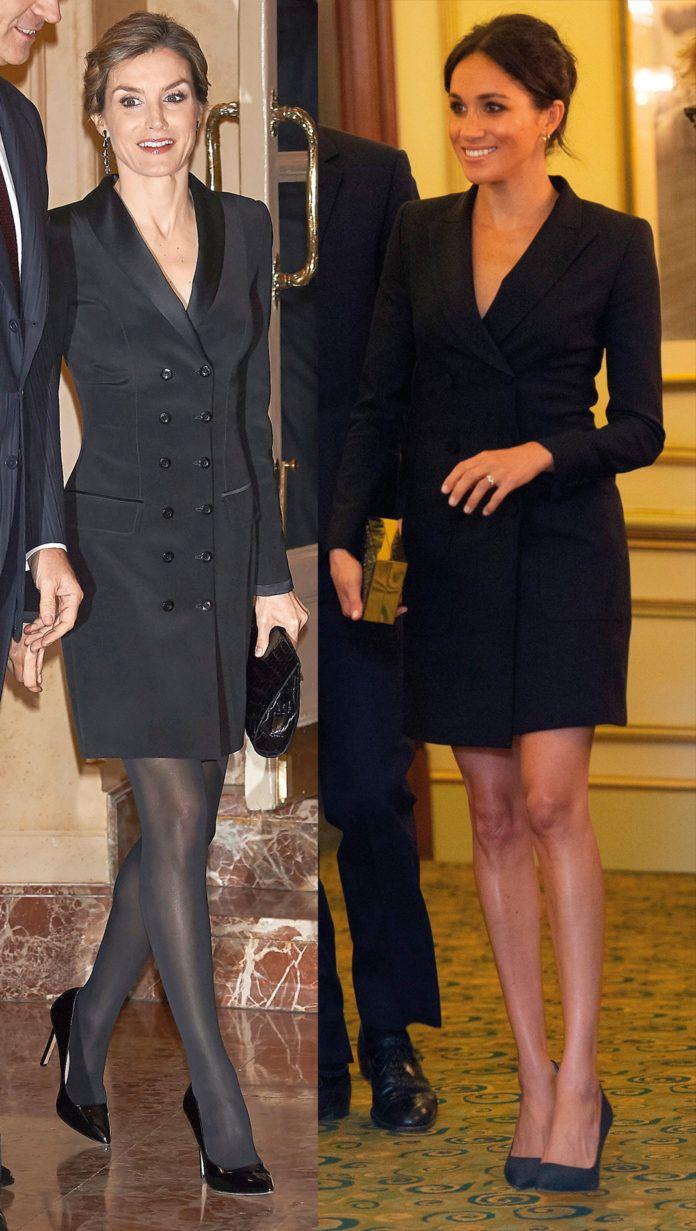 Meghan Markle y Letizia Ortiz, estilo ¿copiado?