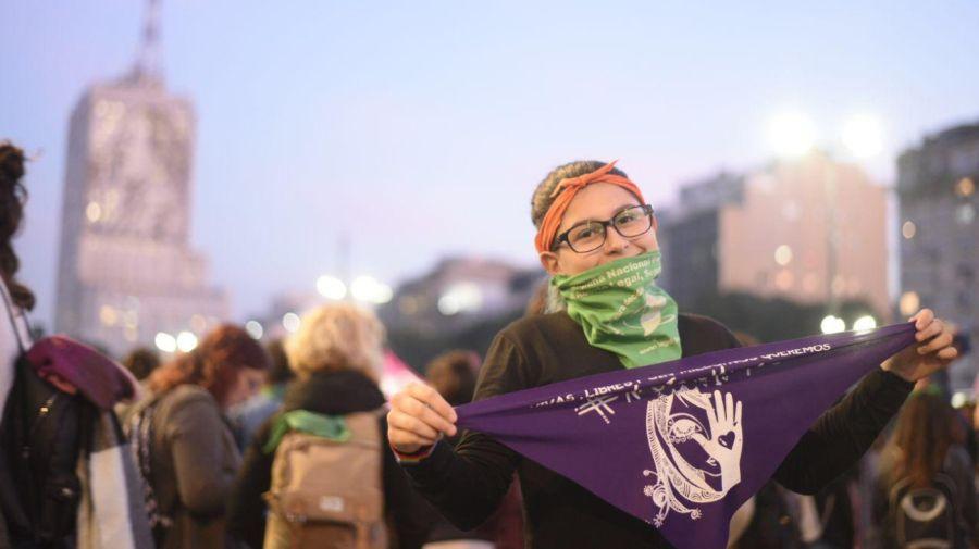 Miles de mujeres volvieron a marcha en todo el país.