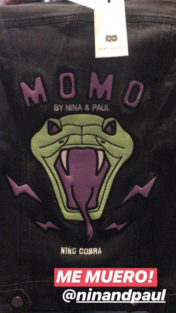 Momo homenajeó a Jimena Barón con su particular look