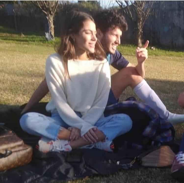 Tini y Yatra, juntos en Buenos Aires.