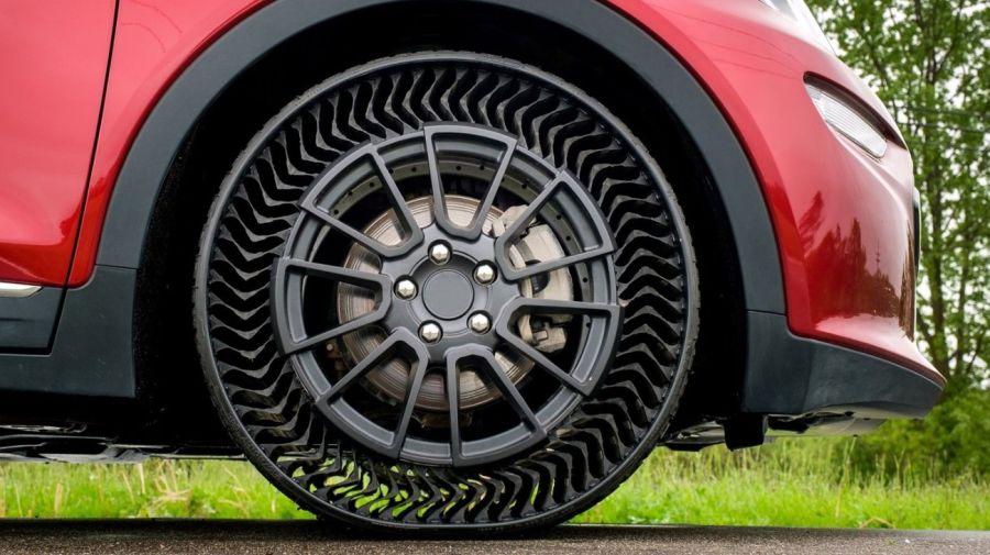 0610 UPTIS: el neumático sin aire que no se pincha