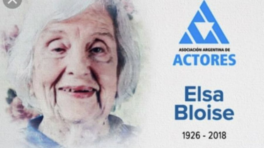 El verdadero rostro de Elsa Bloise