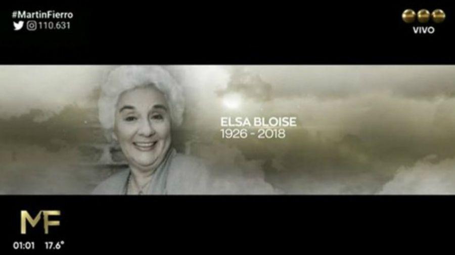 Floria Bloise en el In Memoriam de APTRA