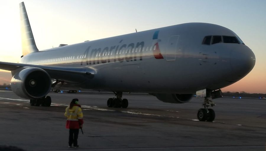 0613 American Airlines ya vuela entre Córdoba y Miami