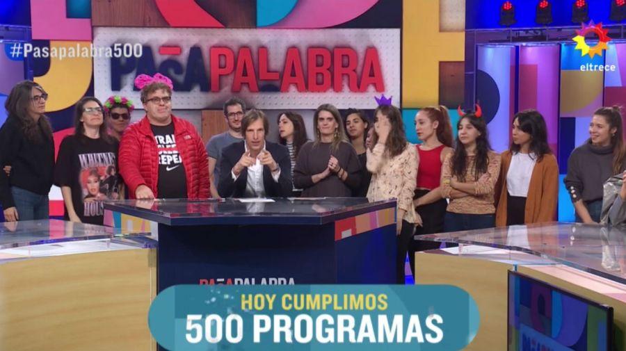 Pasapalabra 500 programas