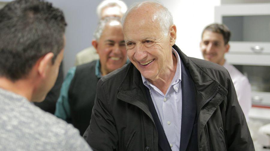 Roberto Lavagna de gira electoral por Mar del Plata.