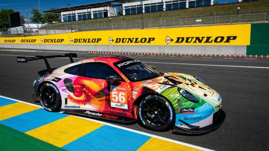 Si no te gusta la pintura de tu Porsche 0 km, podés cambiarla