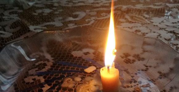 corte de luz vela apagon