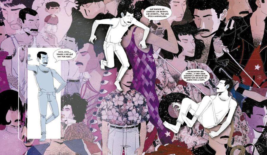 Freddie Mercury por Alfonso Casas