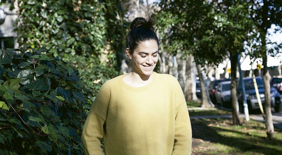 El departamento de Paula coincide completamente con su trabajo:su editorial está dedicada a la cultural ambiental