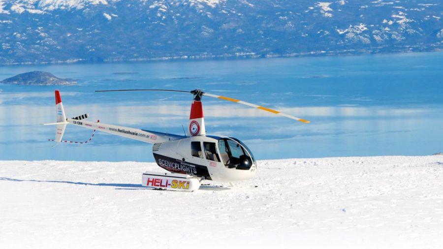 0626 Una vuelta en helicóptero para enamorarse de Ushuaia