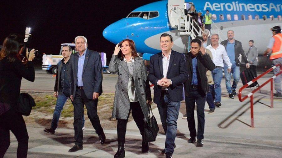 Cristina Kirchner y Gerardo Zamora.