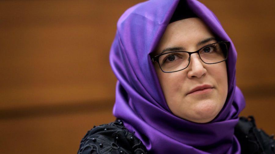 Hatice Cengiz Jamal Khashoggi
