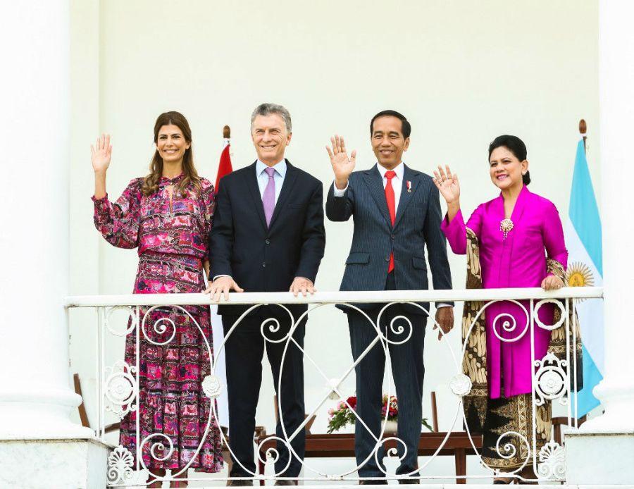 Juliana Awada en Indonesia