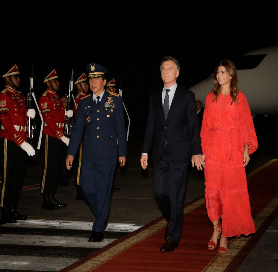 Juliana Awada en Indonesia