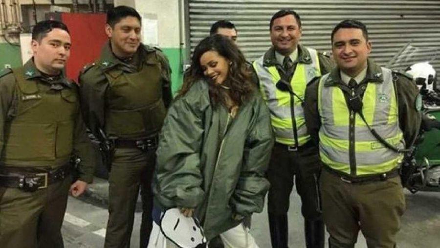 El curioso motivo por el que Rihanna viajó a Chile