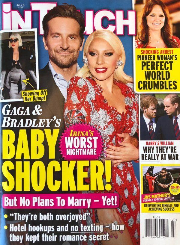 Lady Gaga y Cooper, ¿embarazados?