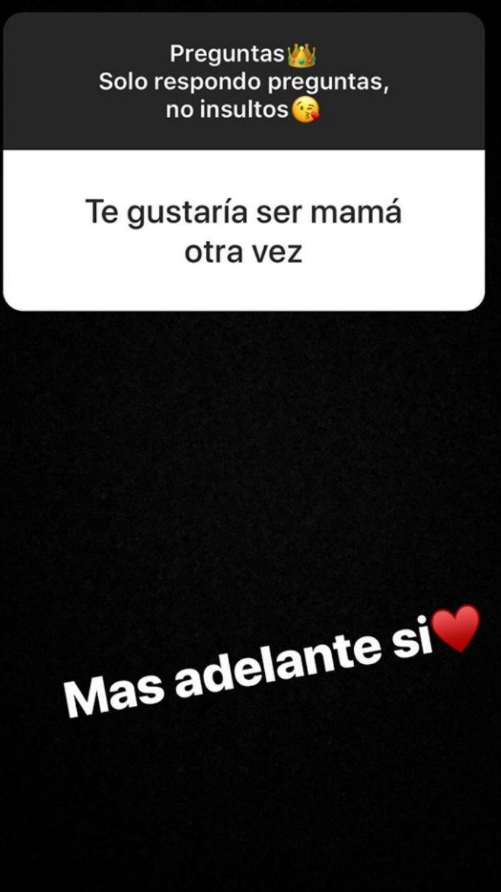 Después de anunciar la separación, More Rial quiere volver a ser mamá