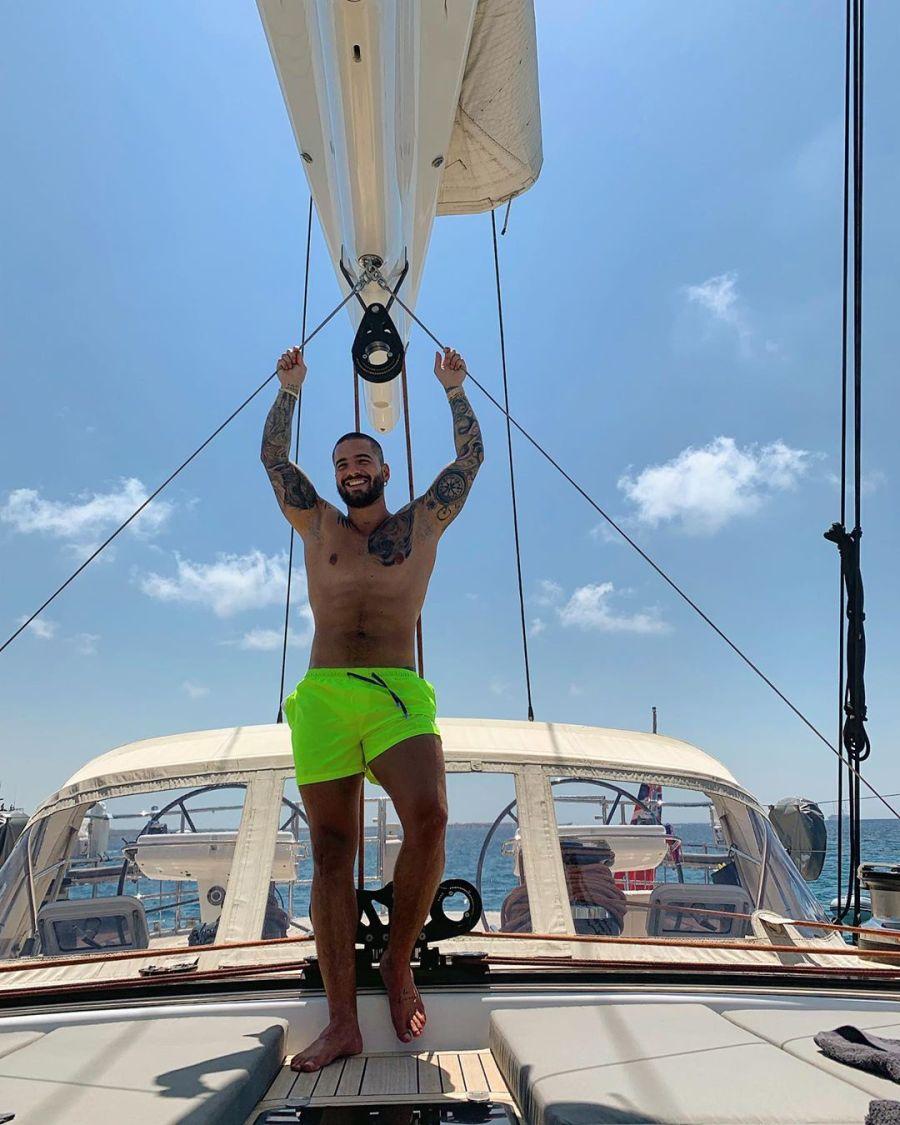 Las vacaciones de Maluma en Formentera