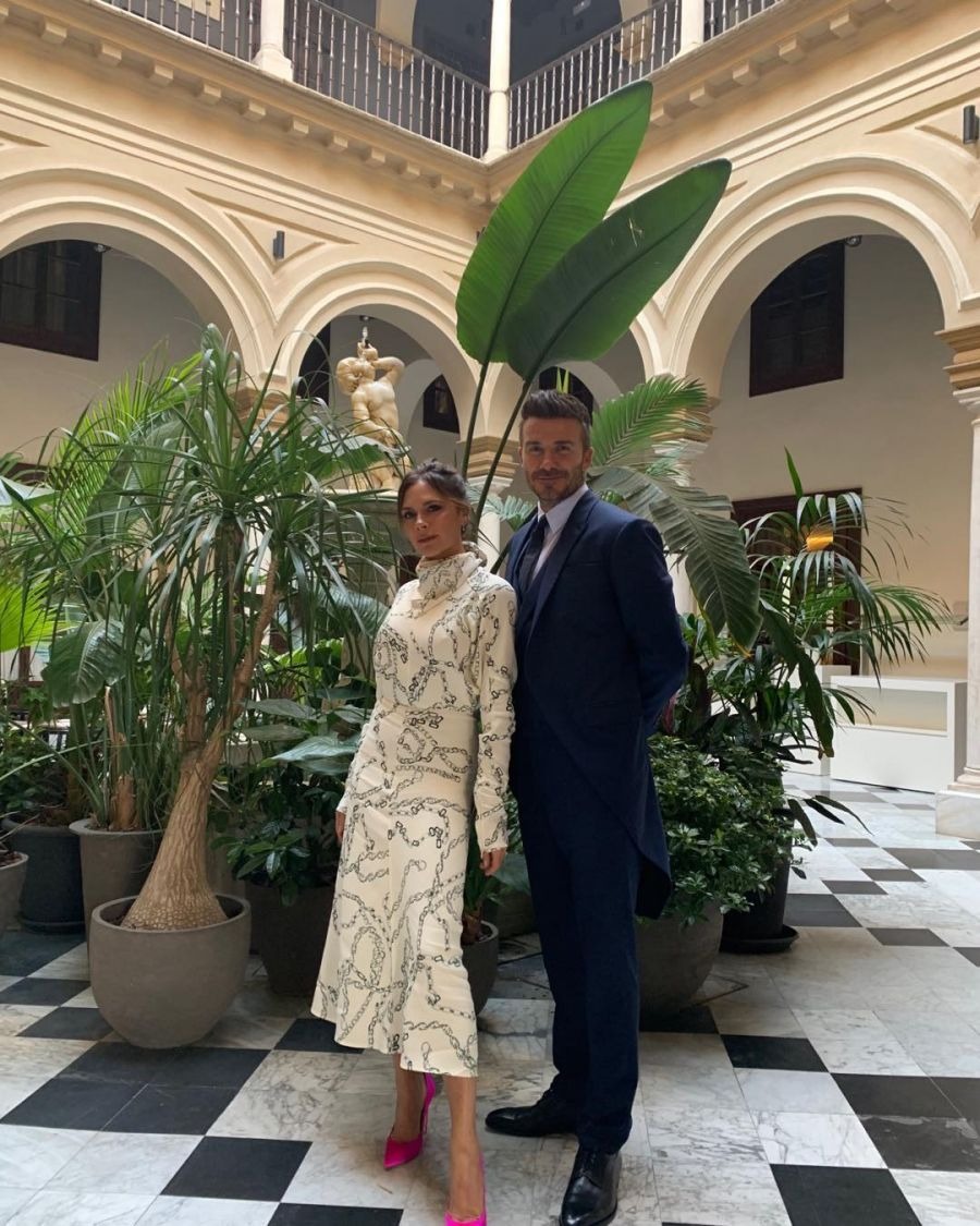 David y Victoria Beckham celebraron 20 años de amor