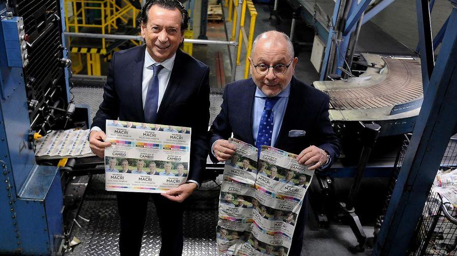 Jorge Faurie y Dante Sica, en Editorial Perfil.