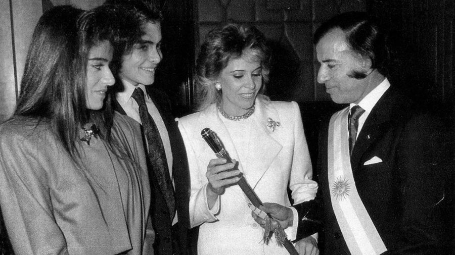 8 de julio de 1989: Carlos Menem asume la presidencia
