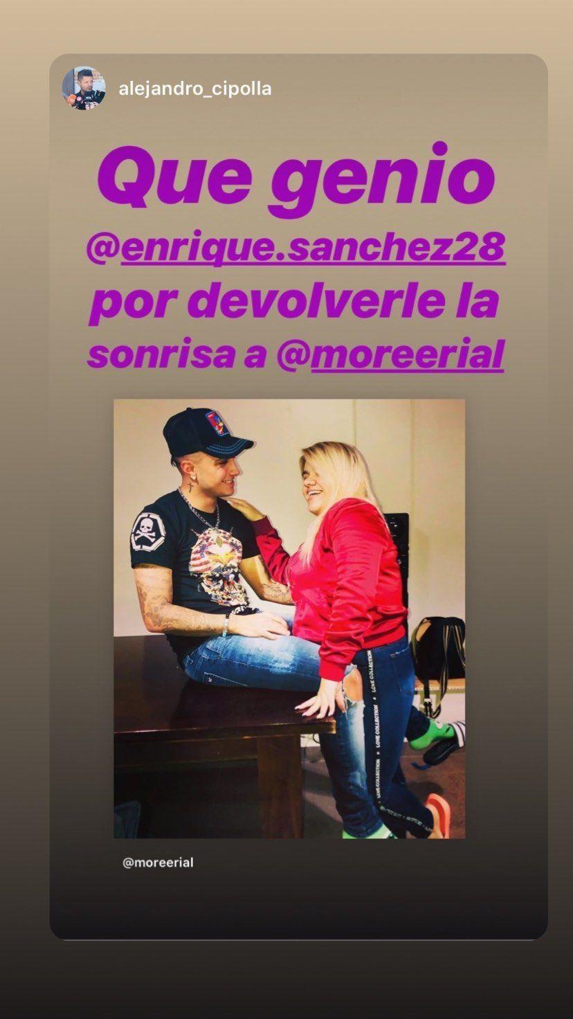El romántico mensaje de Morena Rial a ¿su nuevo novio?