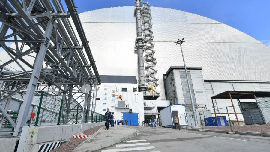 nueva cupula reactor de chernobyl