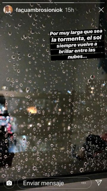 El descargo de Facundo Ambrosioni tras enfrentarse a la denuncia por violencia de género