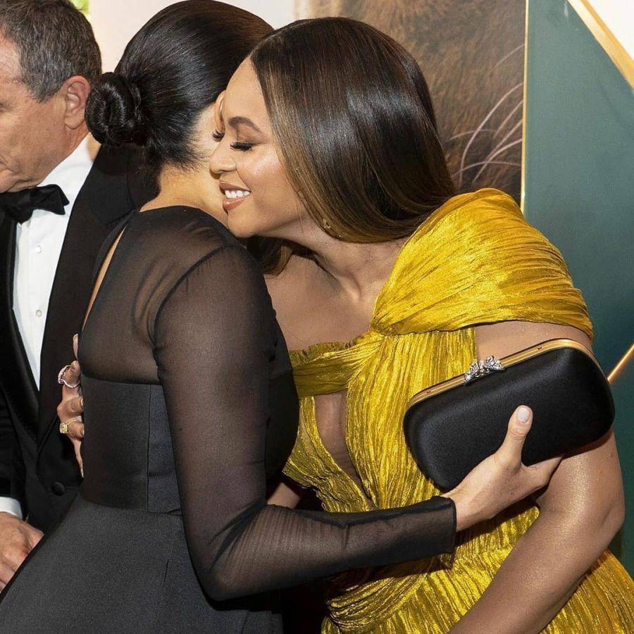El glamoroso encuentro entre Meghan Makle y Beyoncé