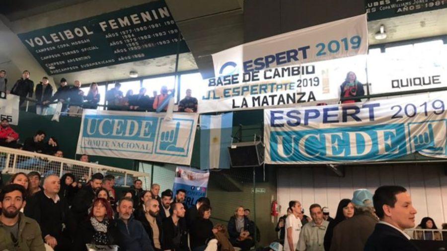 José Luis Espert lanzó oficialmente su campaña en Ferro