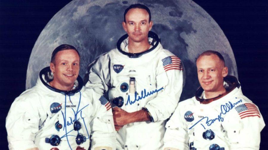 Neil Armstrong, Michael Collins, Buzz Aldrin