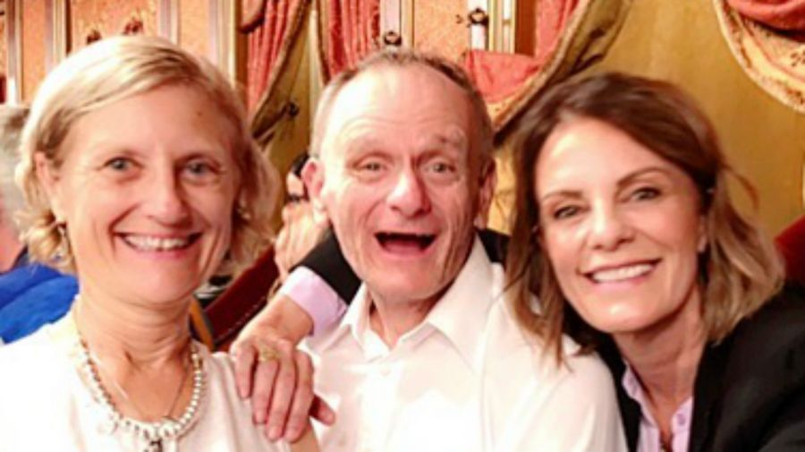 Lucía, Marcelo y Nequi Galotti