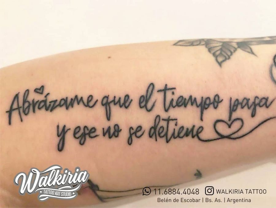 Morena Rial se hizo un nuevo tatuaje ¿dedicado a su nuevo novio?