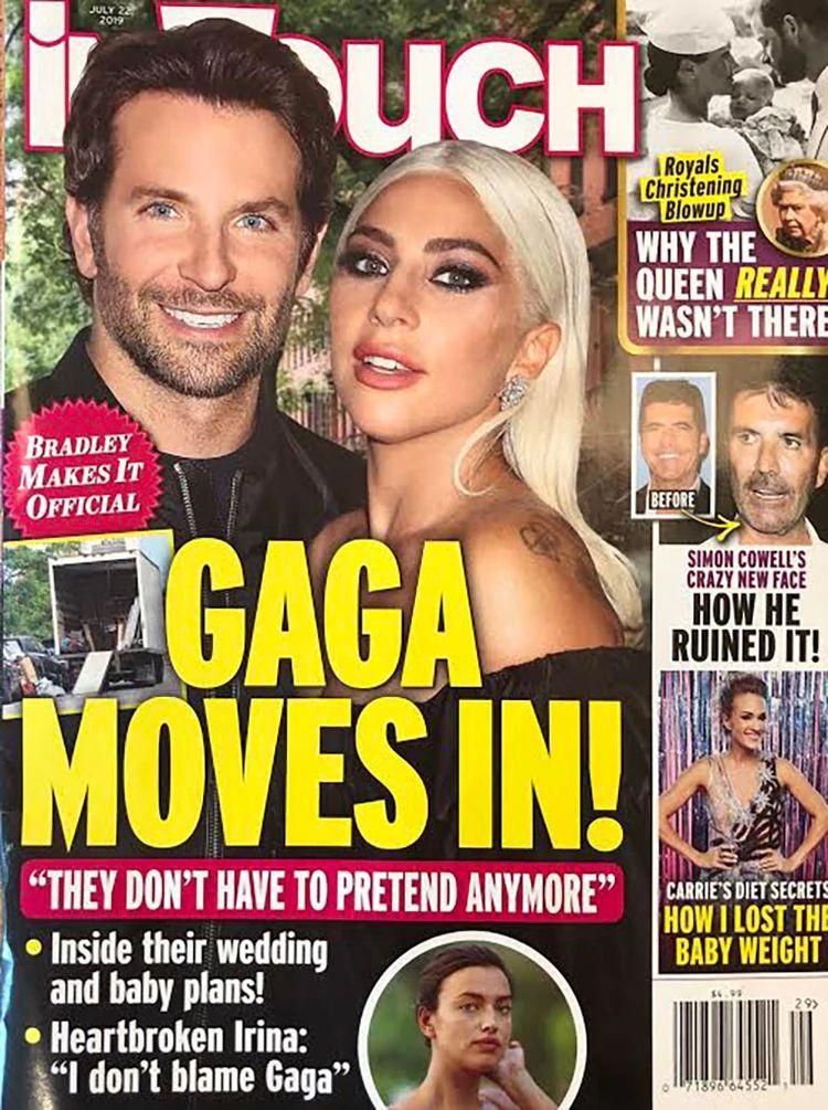 Aseguran que Lady Gaga y Bradley Cooper están conviviendo