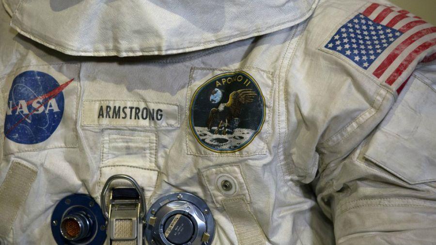 traje espacial de neil armstrong 1969