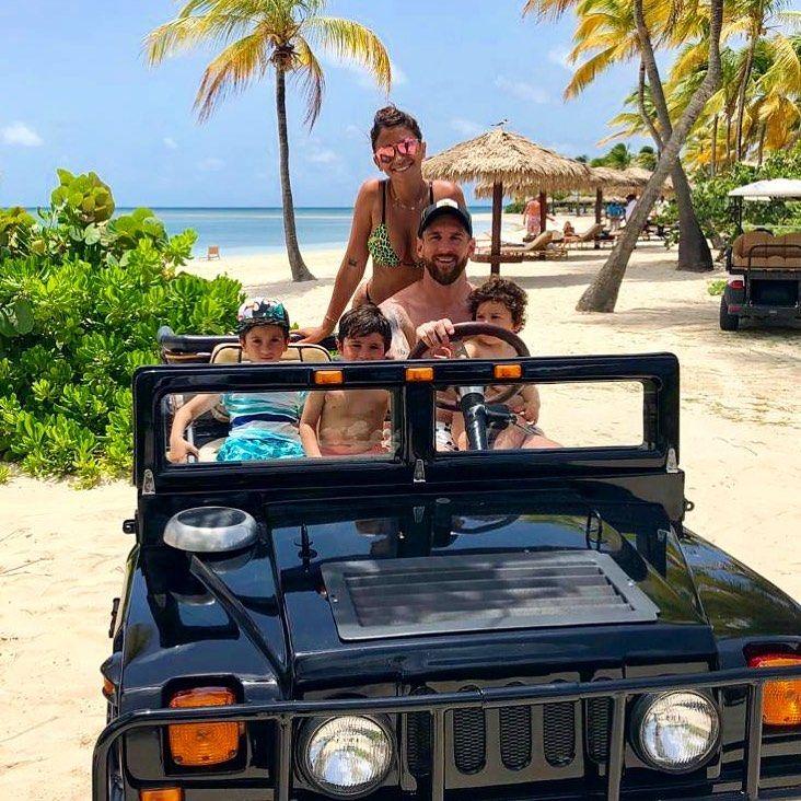 El exclusivo lugar que Leo Messi eligió para vacacionar en familia