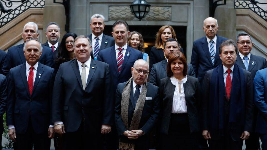 terrorism conference pompeo