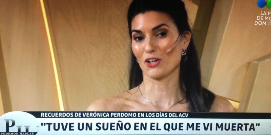 Verónica Perdomo a diez años de su ACV: