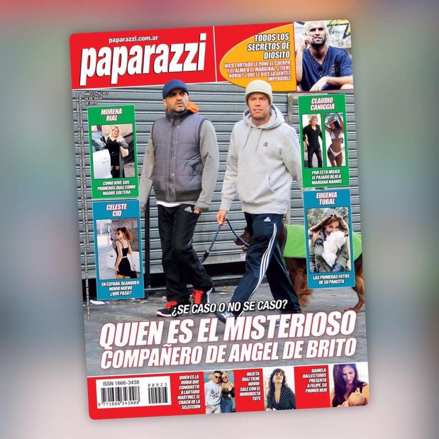 La tapa de Paparazzi: De Brito y Medina.