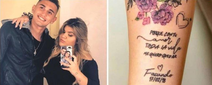 Morena Rial tatuajes