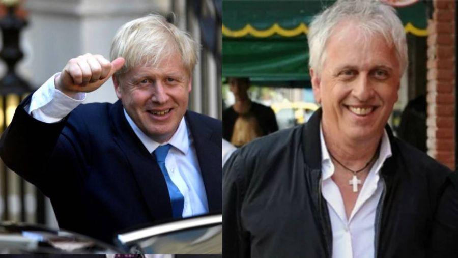 El asombroso parecido del papá de Wanda con el excéntrico primer ministro británico