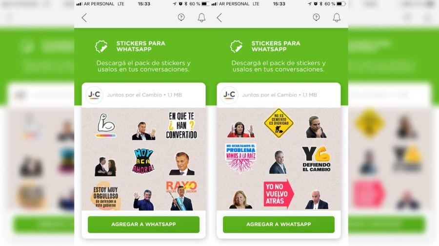 Juntos por el Cambio: la app del Gobierno para militar en redes sociales.